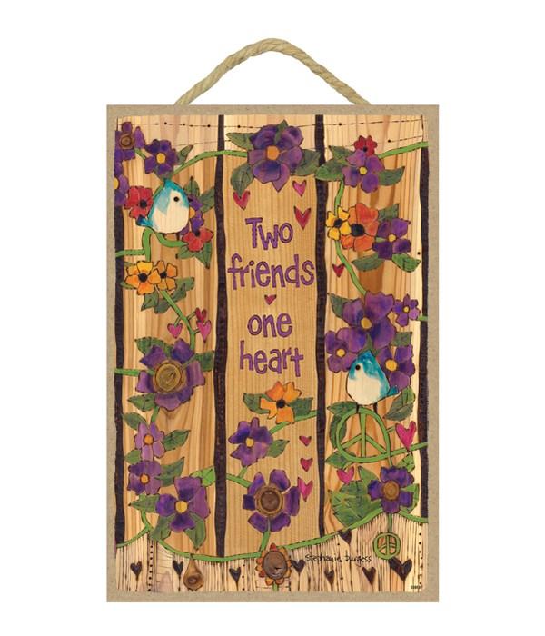 Two friends - One heart