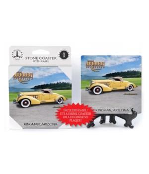 1936 Auburn Speedster (yellow convertibl