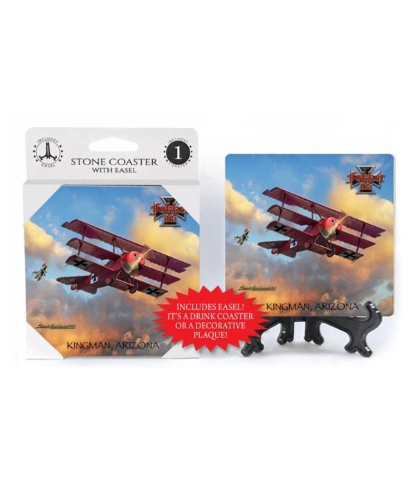 Fokker DRI - German WWI red Tri-plane