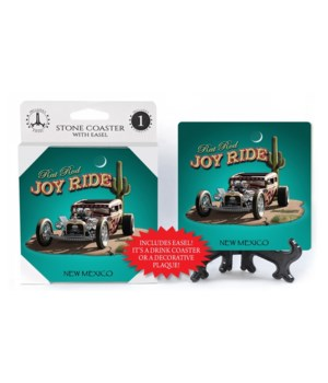 Joy Ride - Rat Rod (teal background, cac