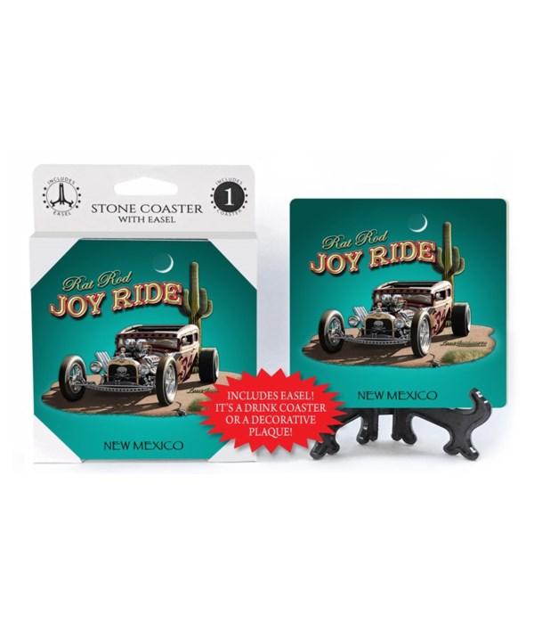 Joy Ride - Rat Rod (teal background, cac