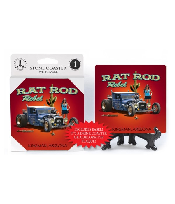 Rat Rod Rebel (purple Ford hot rod with