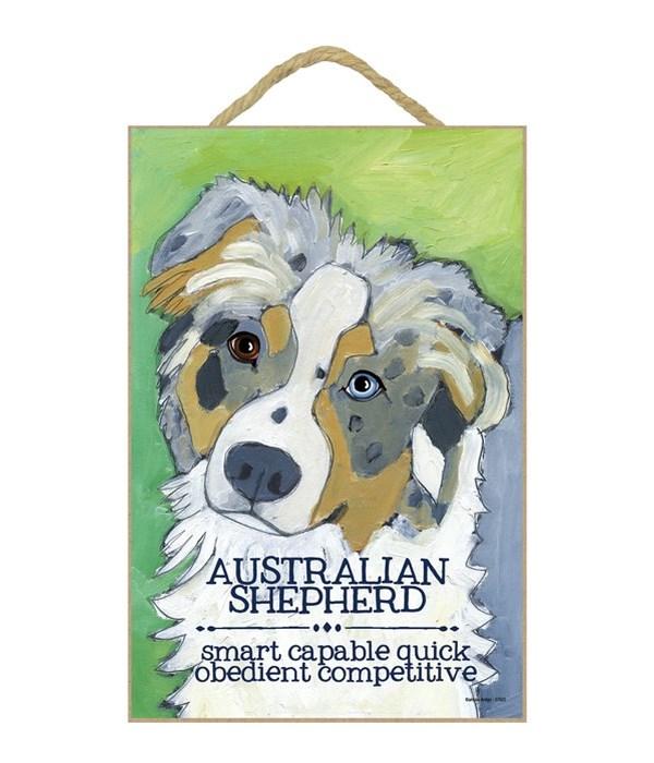 Australian Shepherd 7x10 Ursula Dodge