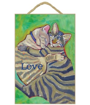 Cat - Love 7x10 Ursula Dodge