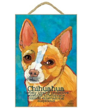 Chihuahua (red) 7x10 Ursula Dodge