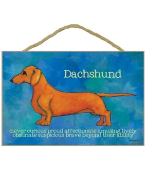 Dachshund (red) 7x10 Ursula Dodge