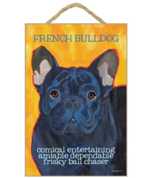 French Bulldog (black) 7x10 Ursula Dodge