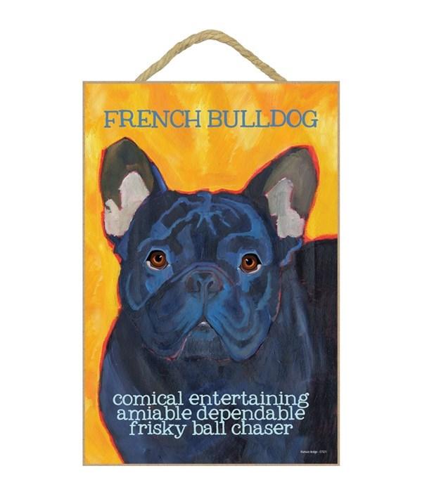 French Bulldog (black) 7x10 Ursula Dodge