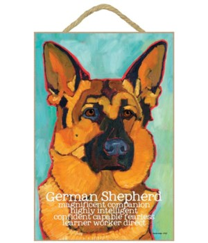 German Shepherd 7x10 Ursula Dodge