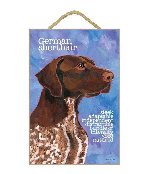 German Shorthair Pointer 7x10 Ursula Dod