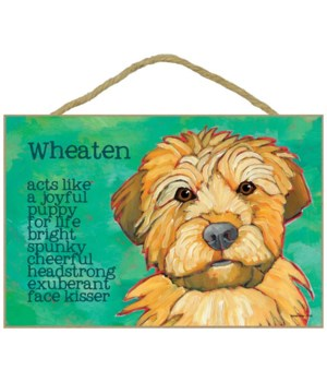 Wheaten Terrier 7x10 Ursula Dodge