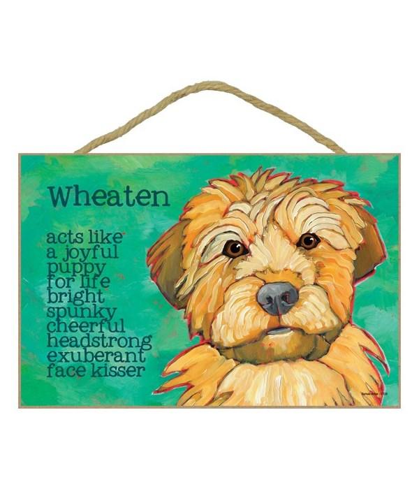 Wheaten Terrier 7x10 Ursula Dodge