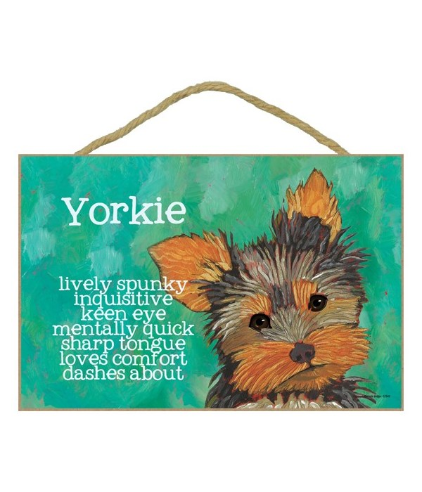 Yorkie 7x10 Ursula Dodge