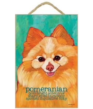 Pomeranian 7x10 Ursula Dodge
