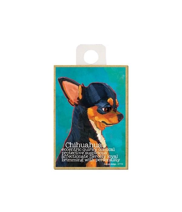 Chihuahua (black) Magnet