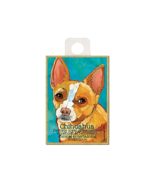Chihuahua (red) Magnet