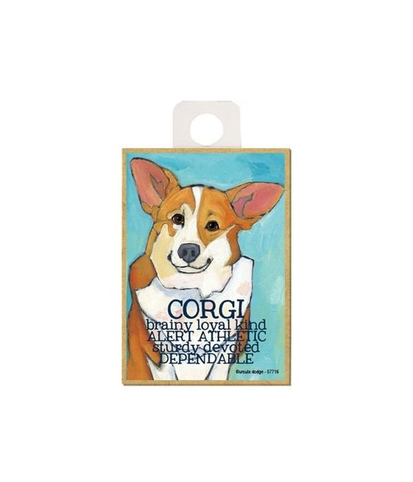 Corgi Magnet