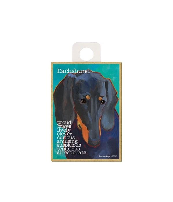 Dachshund (black) Magnet