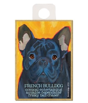 French Bulldog (black) Magnet