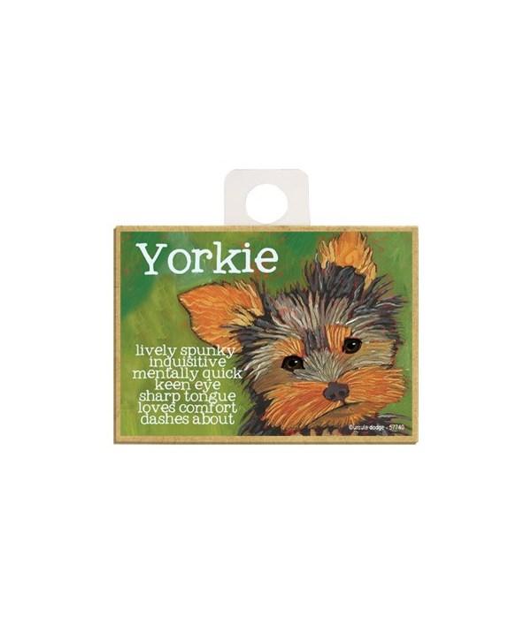 Yorkie Magnet