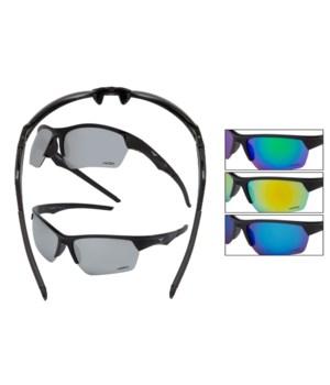 Vertx Men's PC Sport wrap Sunglasses