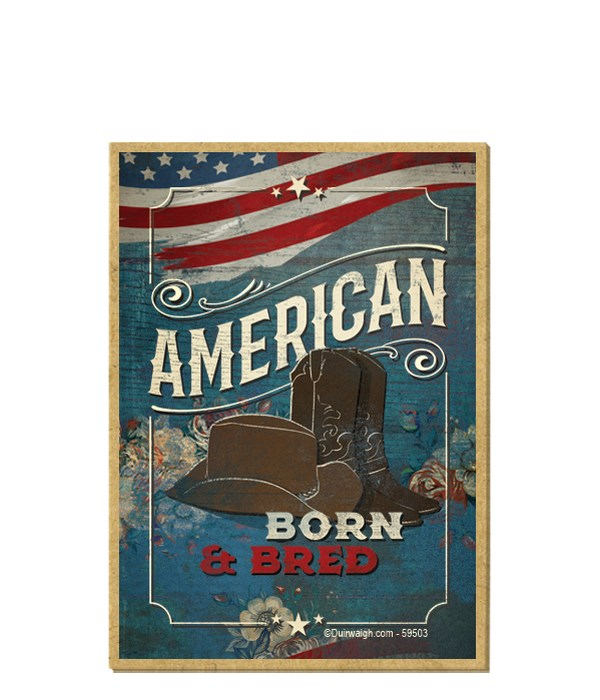 American - born & bred