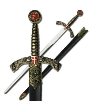 "MEDIEVAL SWORD 42"" OVERALL"