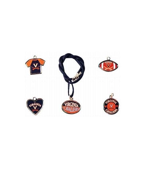 U-VA Jewelry Asst Suede Necklace