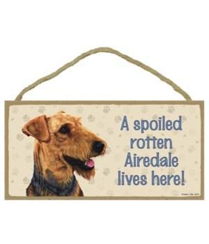 Airedale Spoiled 5x10