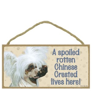 Chinese Crested Spoiled 5x10