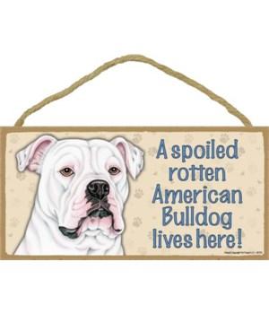 American Bulldog Spoiled 5x10