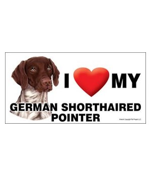 I (heart) my German Shorthaired Pointer