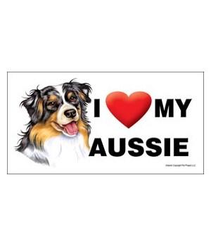 I (heart) my Aussie (Australian Shepherd