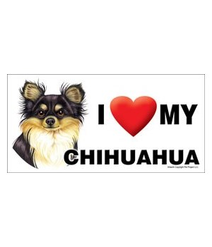 I (heart) my Chihuahua (black and tan) 4
