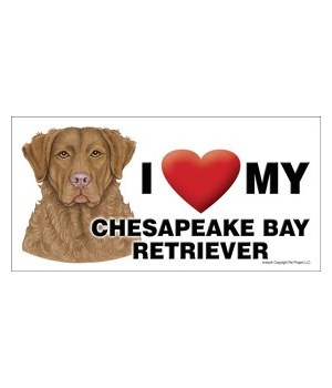 I (heart) my Chesapeake Bay Retriever 4x