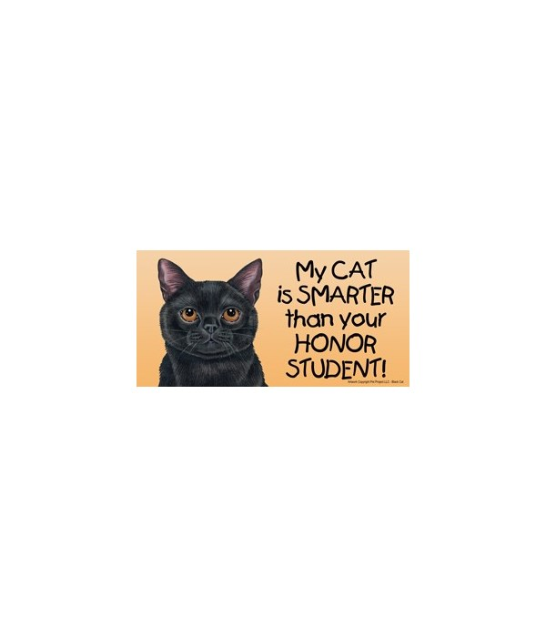 My Cat (Black Cat) is smarter than your