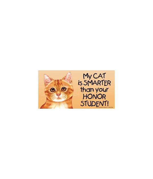 My Cat (Orange Tabby) is smarter than yo