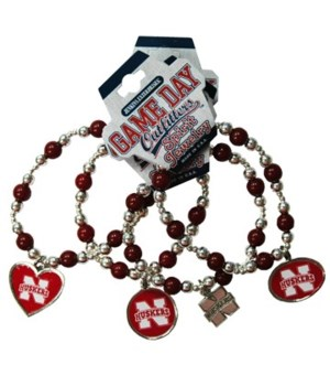U-NE Jewelry Asst Charm Bracelet