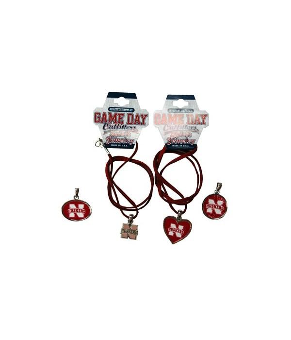 U-NE Jewelry Asst Suede Necklace