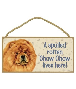 Chow chow Spoiled 5x10