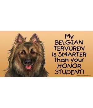 My Belgian Tervuren is smarter than your