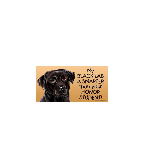 My Black Lab is smarter than yourHonor