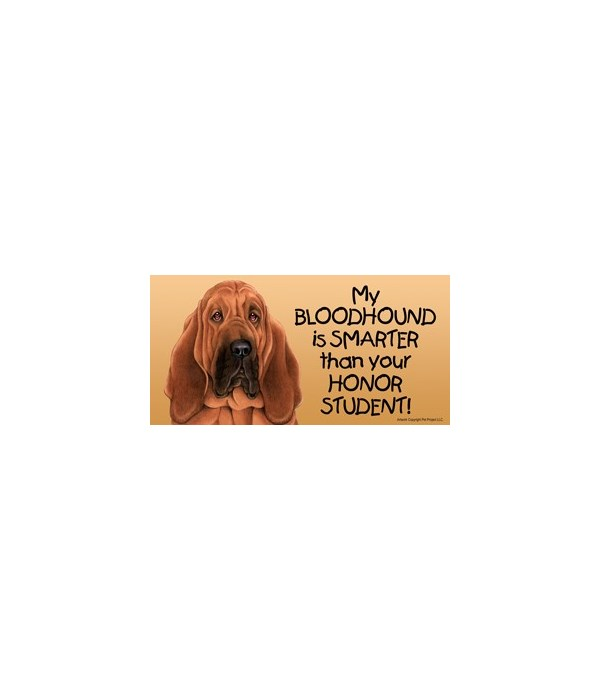 My Bloodhound is smarter than yourHonor