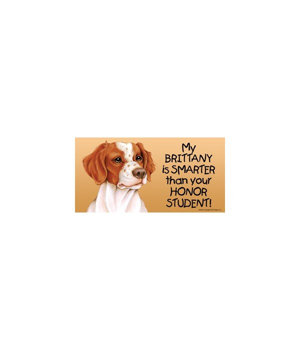 My Brittany is smarter than yourHonor s