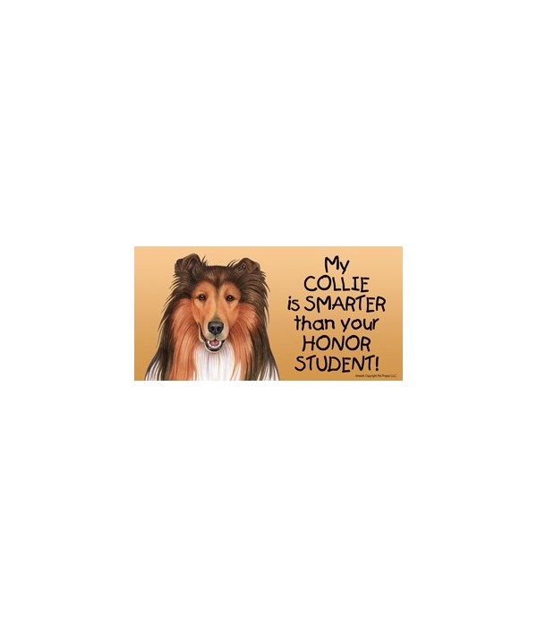 My Collie is smarter than yourHonor stu