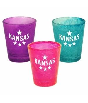KS Shotglass Ice Crack 3/A