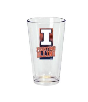 U-IL Drinkware Pine Glass 16oz
