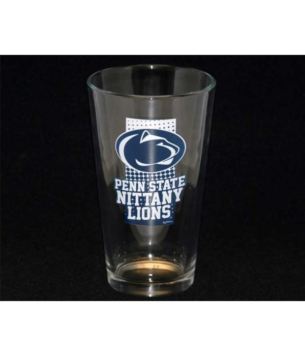 Penn State 16oz Pint Glass 12PC
