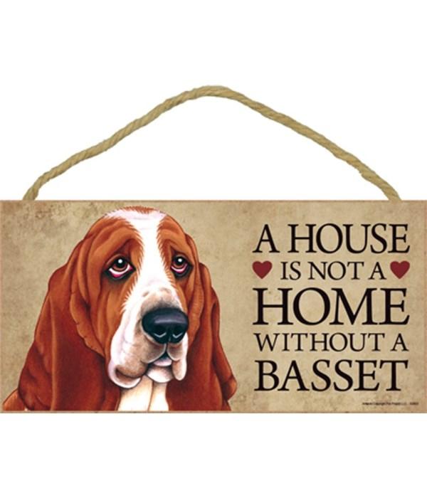 Basset (Hound) House 5x10
