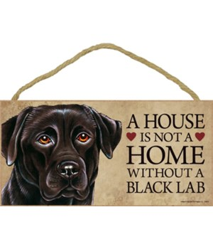 Black Lab House 5x10